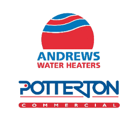 Sound Heating Work With Andrews Water Heaters by Potterton Commercial - Andrews Water Heaters by Potterton Commercial Logo